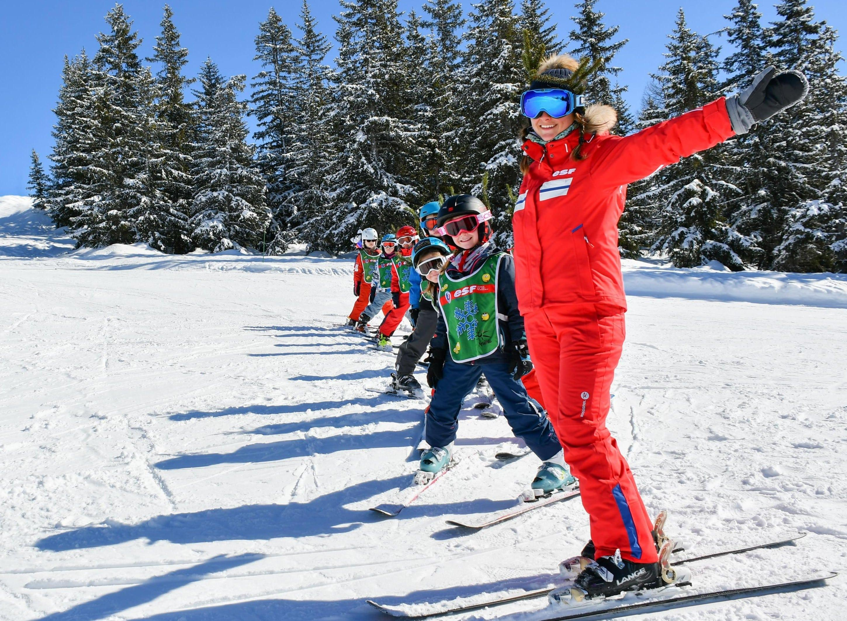 Cours de ski pour Enfants (5-13 ans) - Tous niveaux