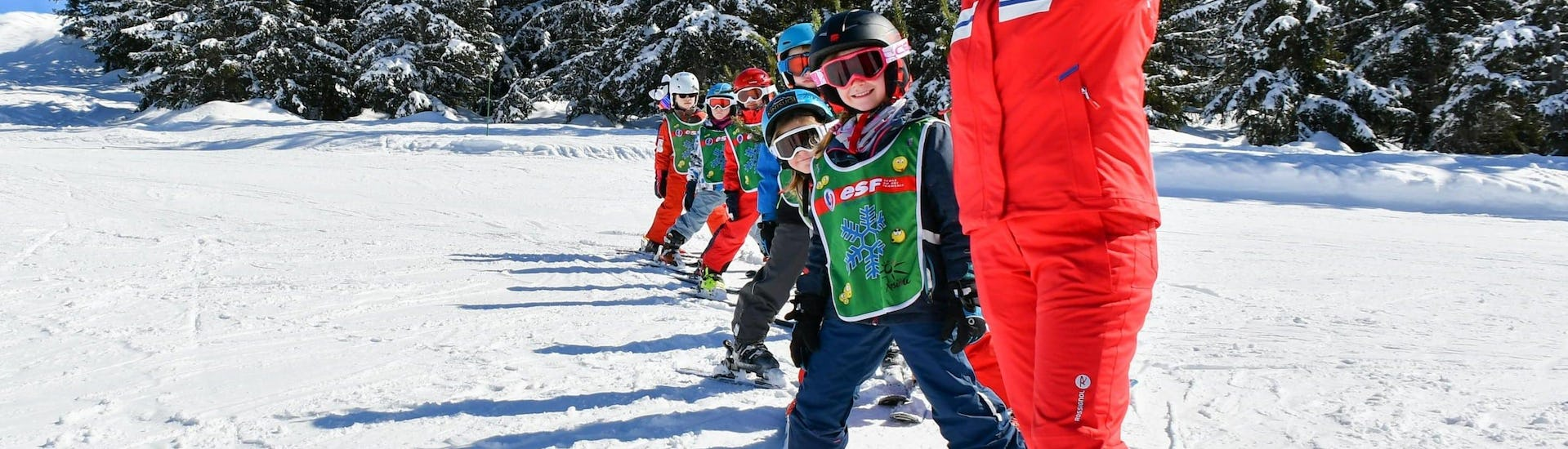 Kids Ski Lessons (5-13 years) - All Levels