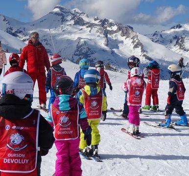 """Cours de ski pour Enfants """"Ourson"""" (5-12 ans)"""