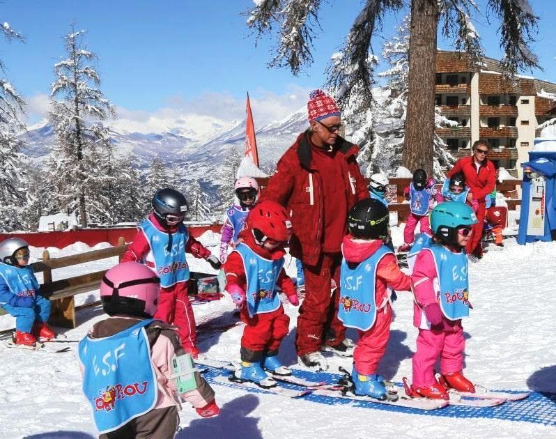 """Cours de ski Enfants """"Piou Piou"""" (3-5 ans) - Février - Matin"""