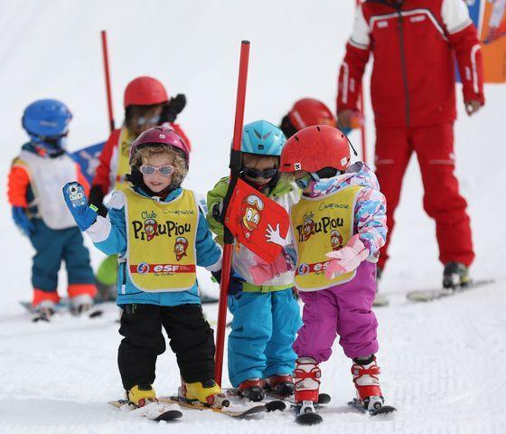 """Cours de ski Enfants """"Piou-Pou"""" (3-5 ans) - Février"""
