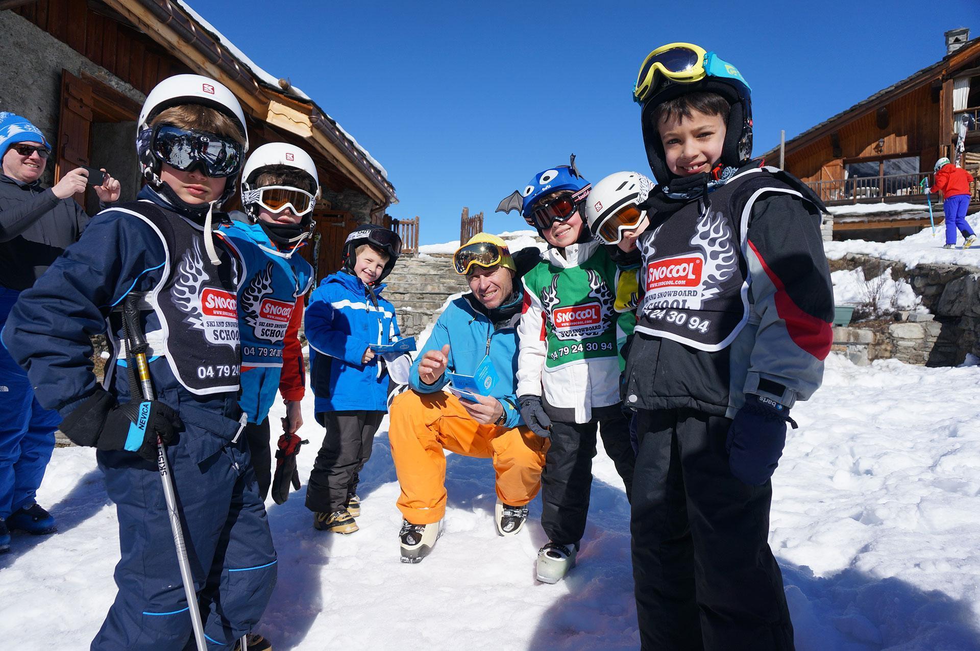 """Cours de ski Enfants """"Pop 6"""" (10-17 ans) - Avancé"""