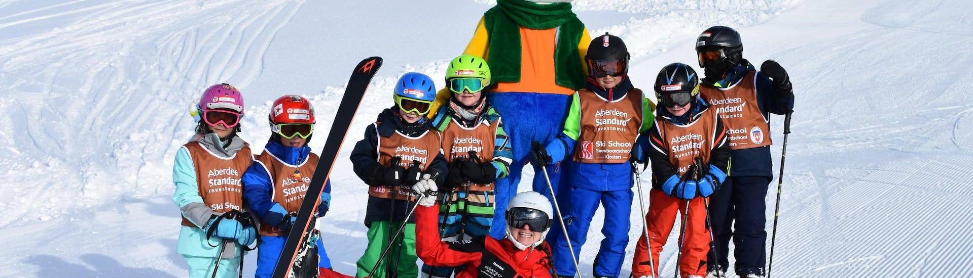 Kids Ski Lessons (from 3 y.) for Beginners