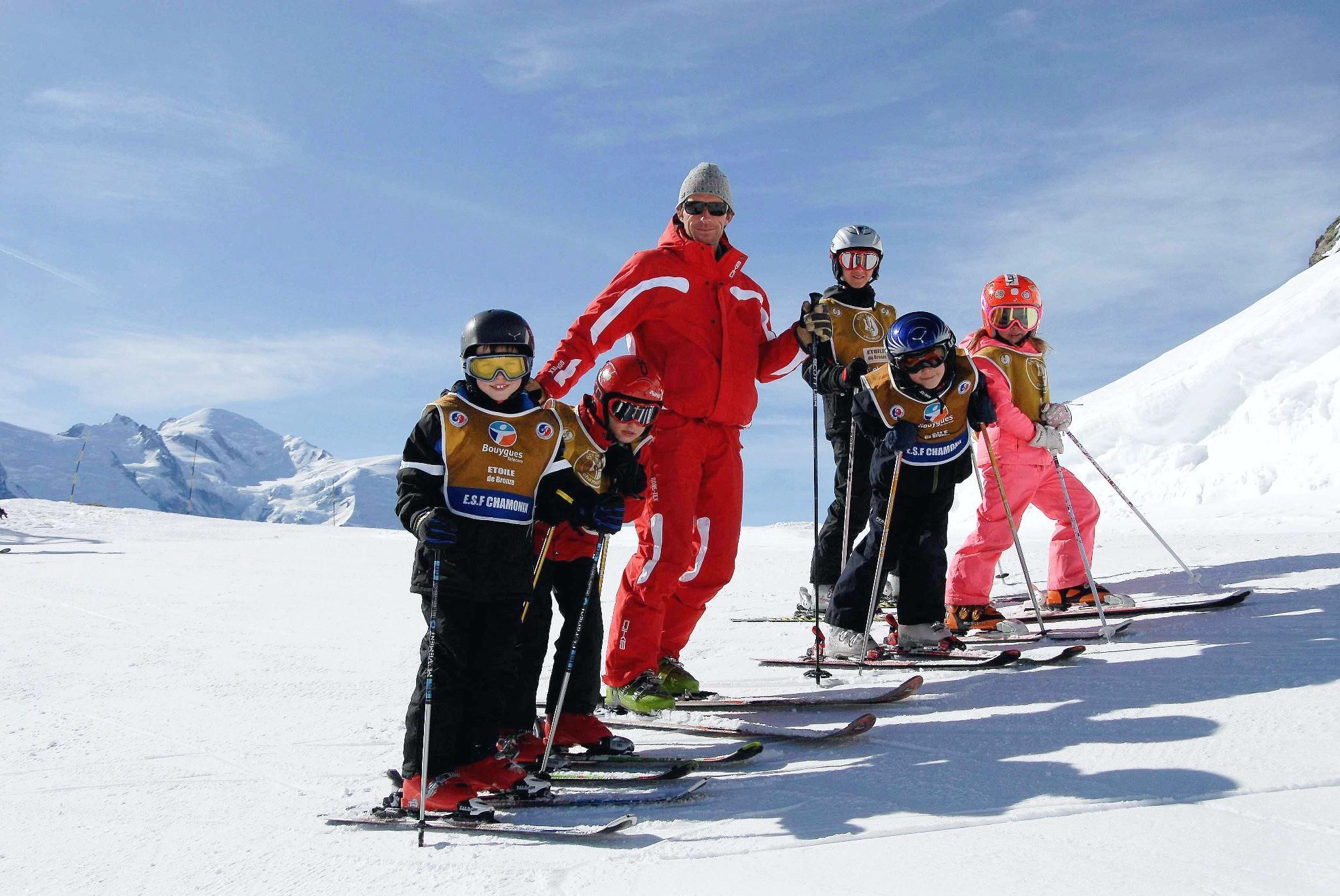 Cours de ski Enfants (5-12 ans) à Chamonix/Les Planards