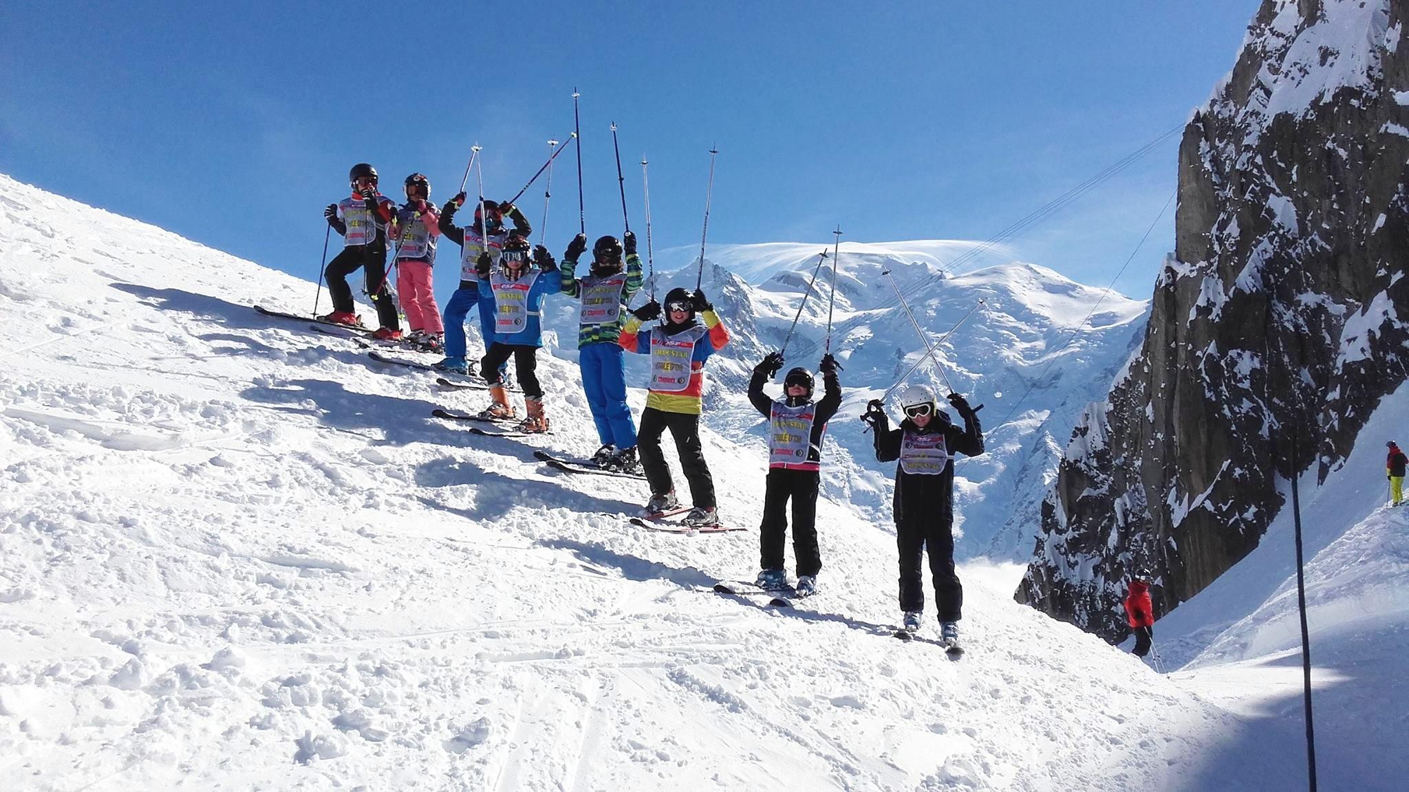 Cours de ski pour Enfants (5-12 ans) à Chamonix/Brévent