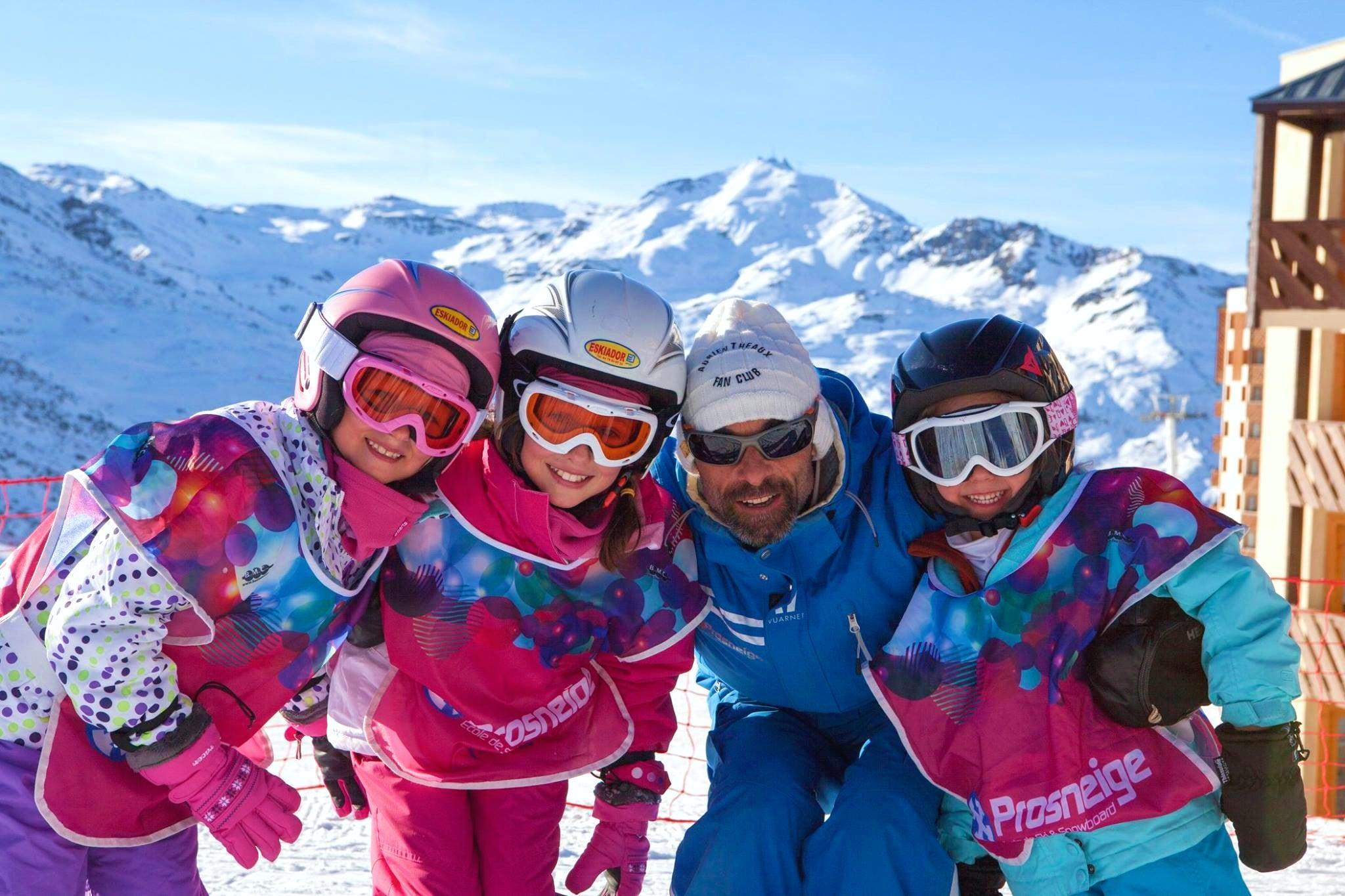 Cours de ski Enfants + Forfait (5-13 ans) pour Débutants