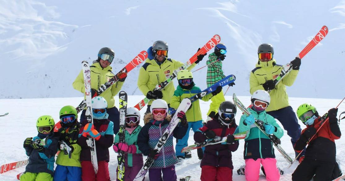 Skilessen voor kinderen vanaf 7 jaar - vergevorderd