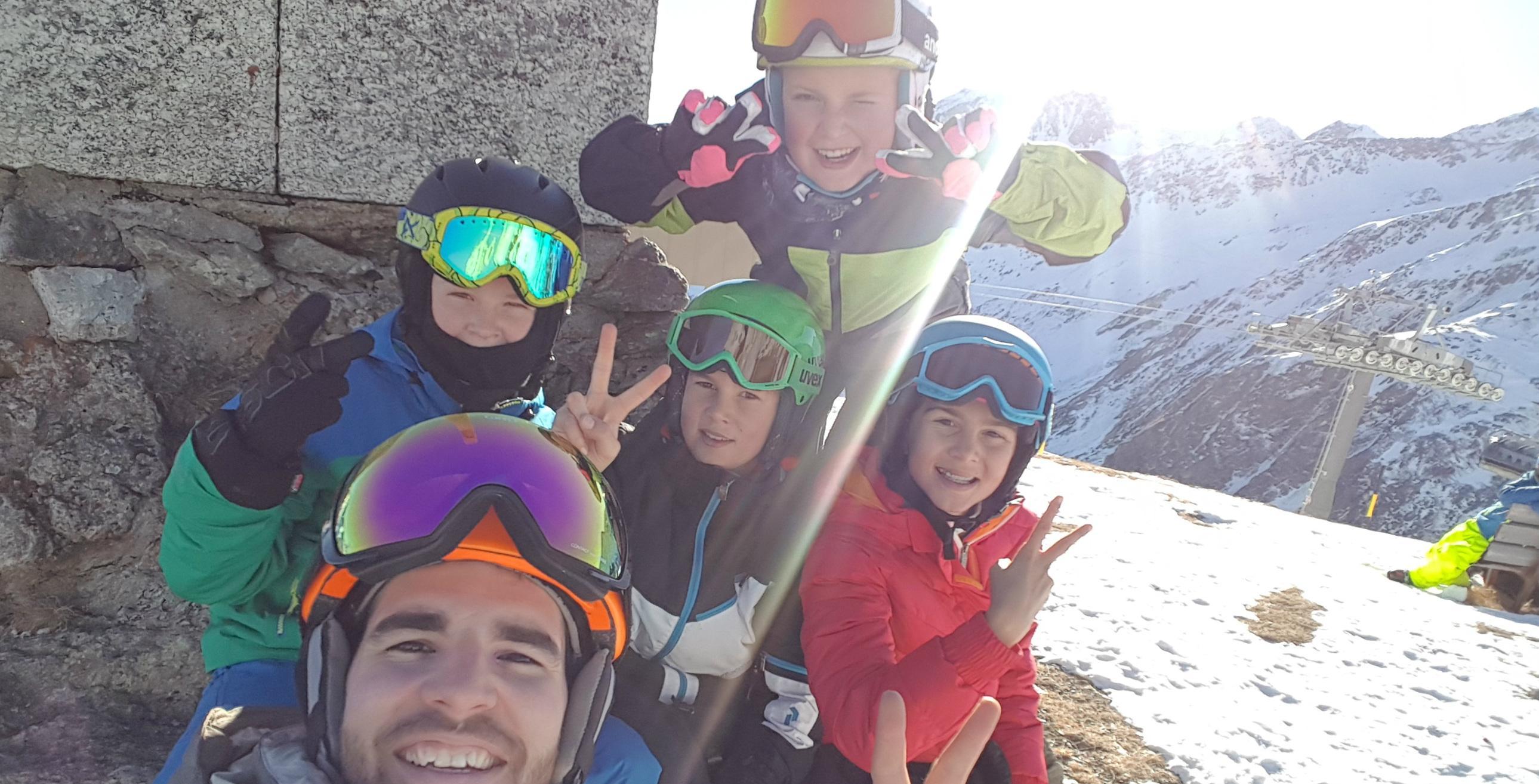 Cours de ski pour Enfants dès 7 ans - Avec expérience