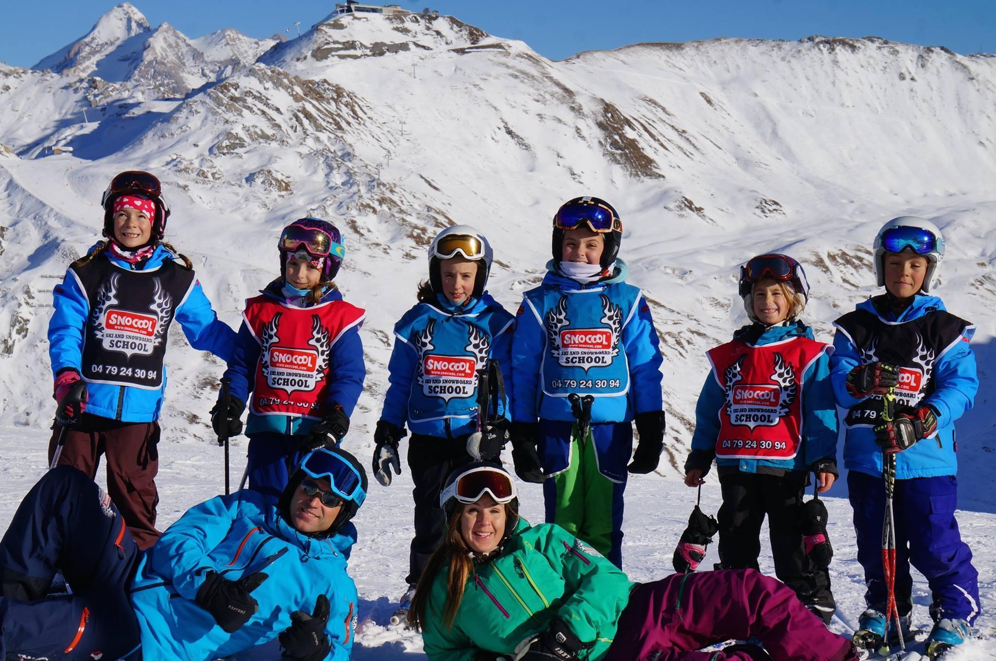 """Cours de ski Enfants """"Mini Groupe"""" (5-12 ans)"""