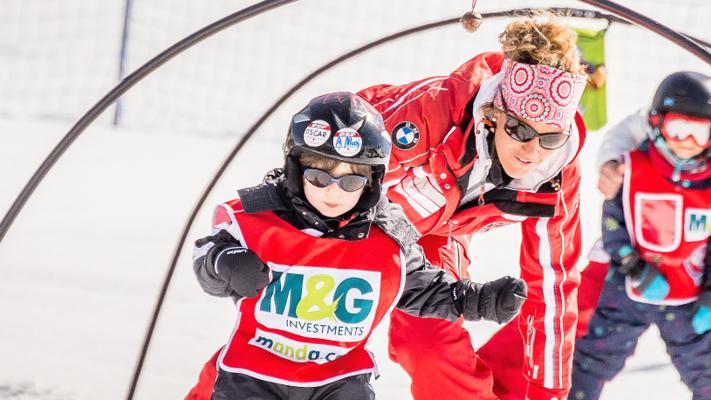 """Cours de ski Enfants """"Jardin des Neiges"""" (3-4ans) - Débutant"""