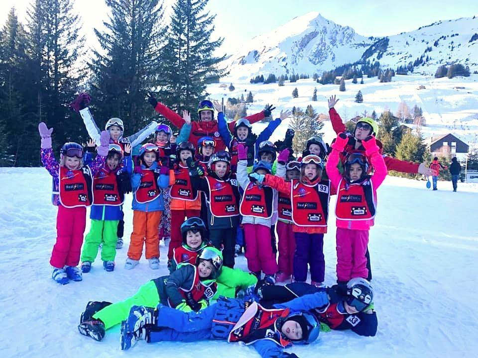 Cours de ski Enfants à Charmey depuis Lausanne