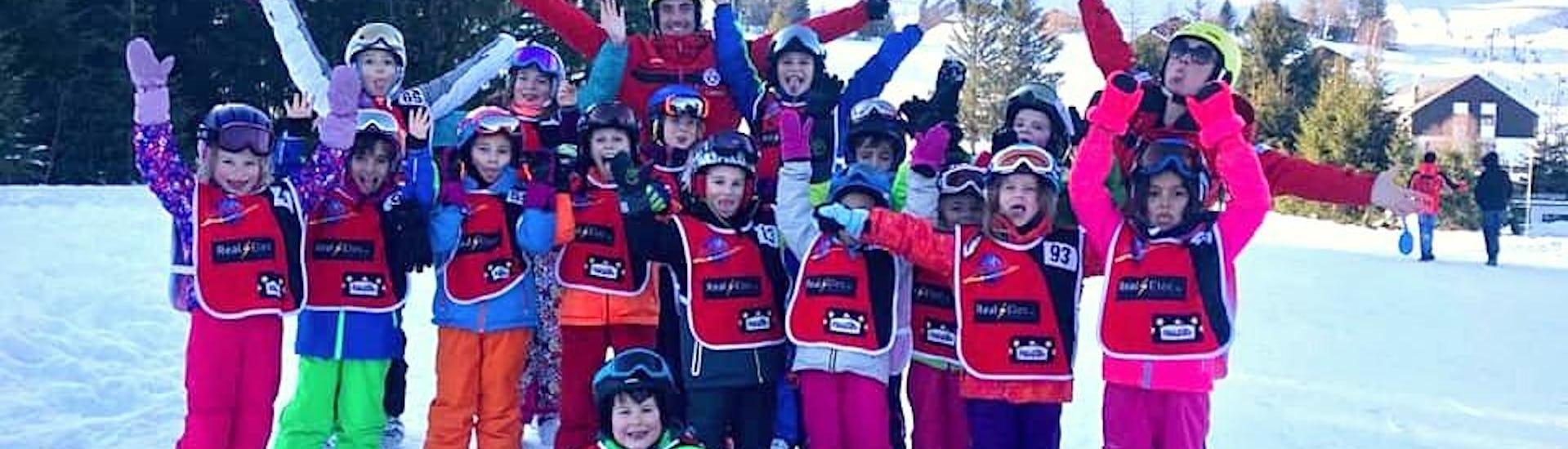 "Kids Ski Lessons ""Snow Guaranteed"""