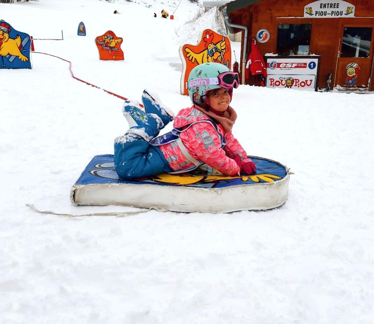 """Premier Cours de ski Enfants """"École des neiges"""" (2½-3 ans)"""