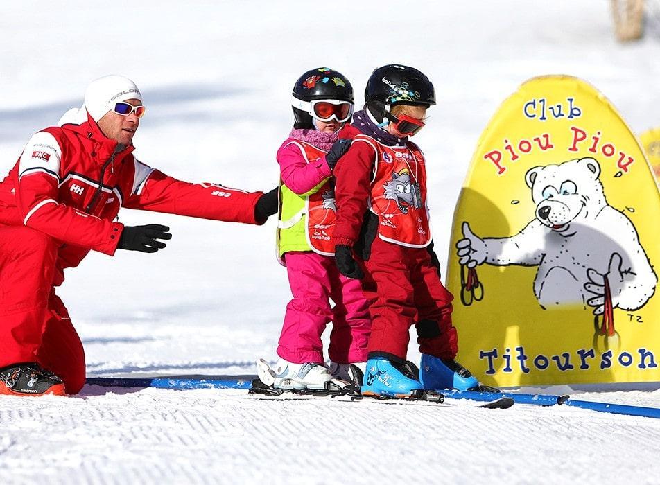 Premier Cours de ski Enfants (3-5 ans)