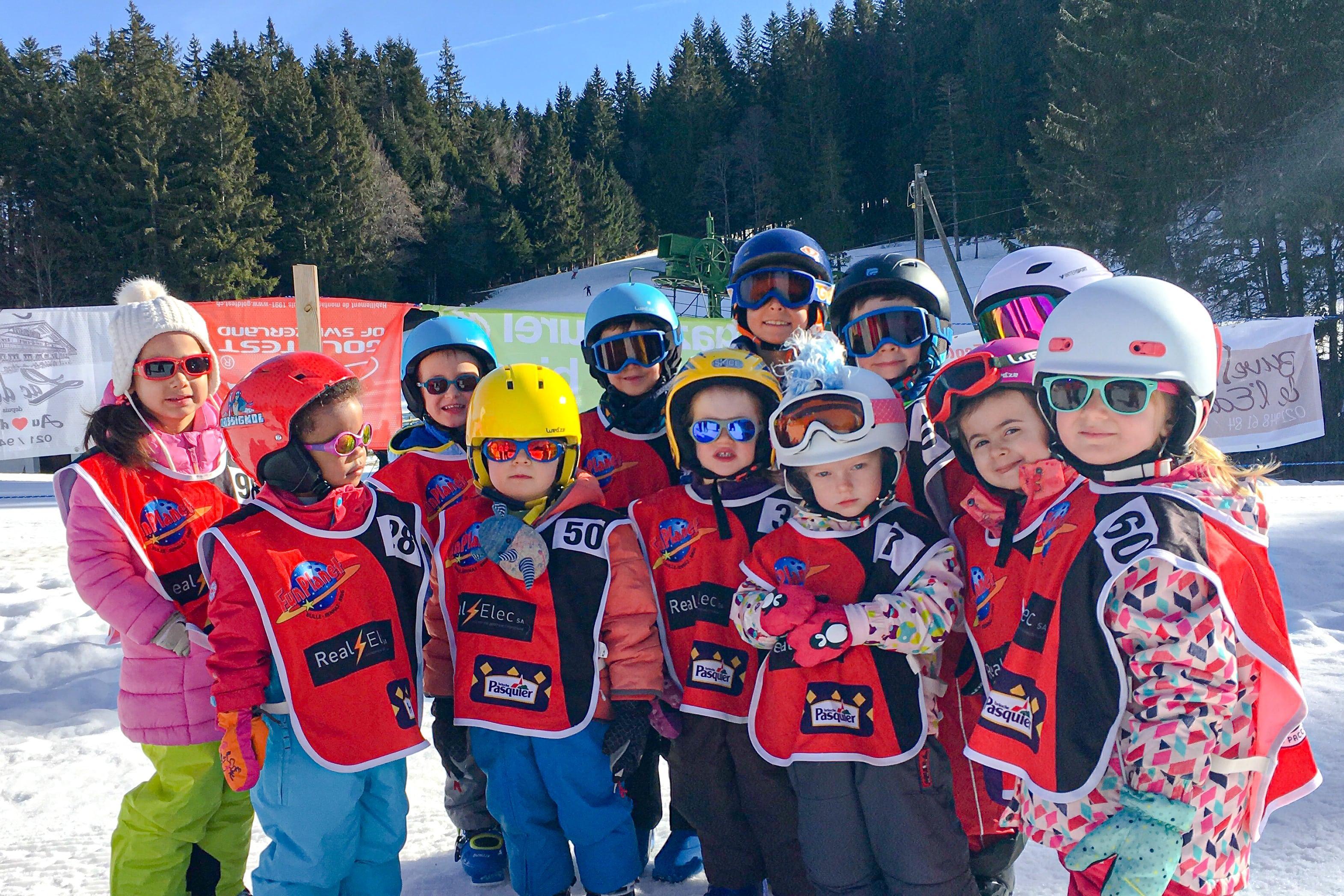 """Cours de ski Enfants """"Jardin des Neiges"""" (3-5ans) - Un cours"""