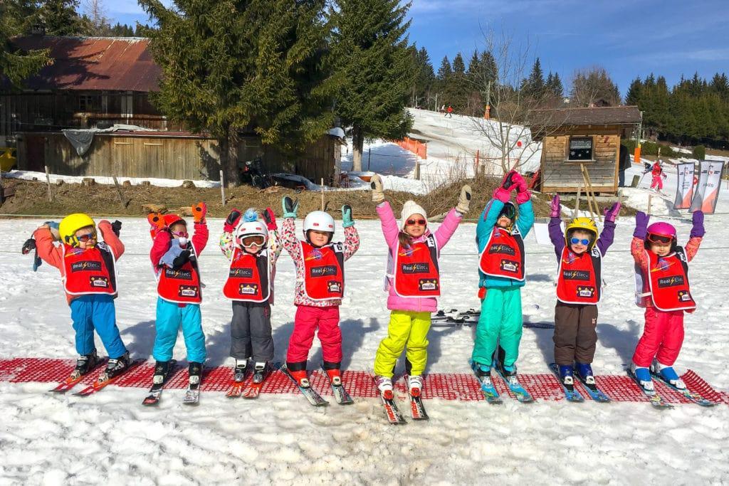 """Cours de ski Enfants """"Jardin des Neiges"""" (3-5ans) - Week-end"""