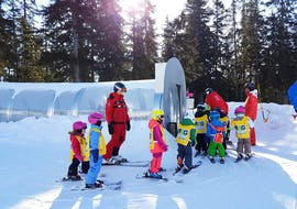 "Kids Ski Lessons ""Snowli Club"" (4-6 y.) for All Levels"