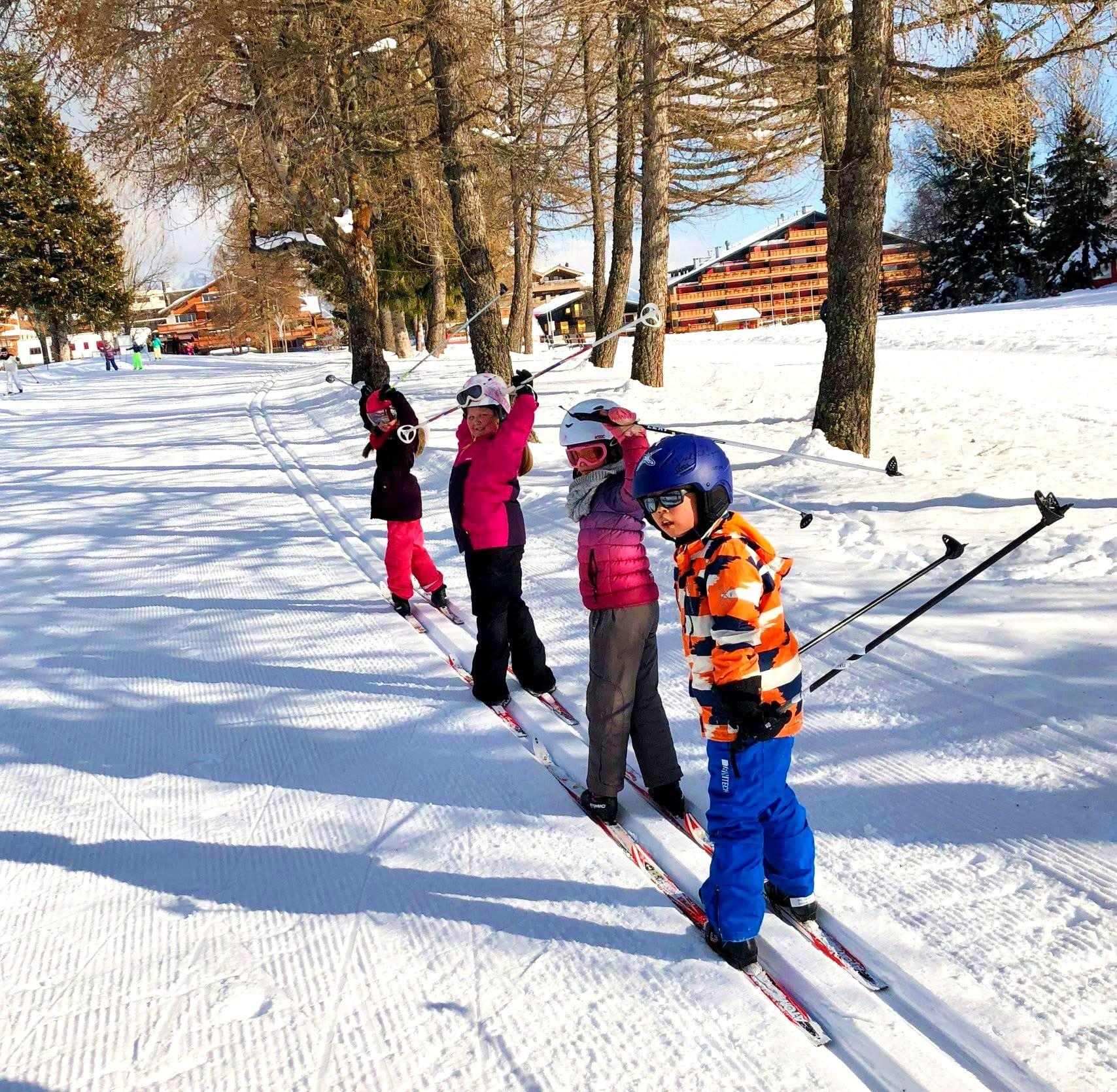 """Cours de ski Enfants """"Snowli Club"""" (4-6 ans) - Max 5"""