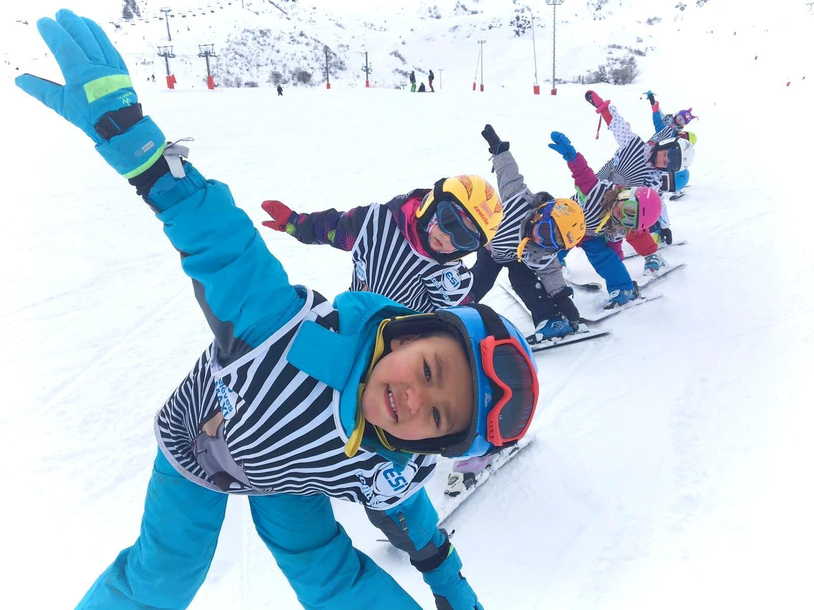 """Cours de ski Enfants """"Souris"""" (4-6 ans)"""