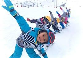 Skilessen voor kinderen vanaf 4 jaar voor alle niveaus met ESI La Toussuire