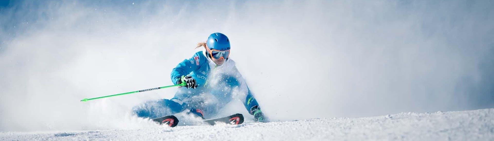 Cours de ski Enfants dès 12 ans - Avancé avec Silvaplana Top Snowsports - Hero image