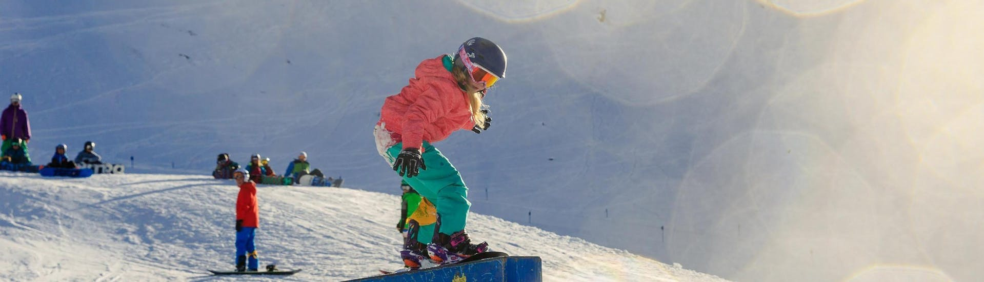 Kids Snowboarding Lessons (from 7 y.) for All Levels