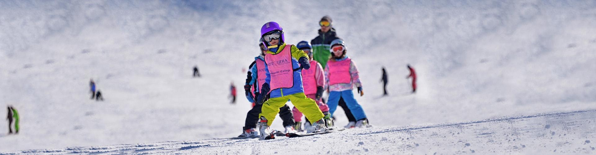 Clases de Esquí para Niños (3-5 años) Debutantes