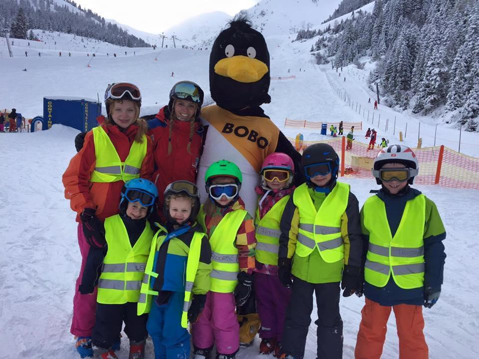 Skilessen voor kinderen vanaf 4 jaar - beginners
