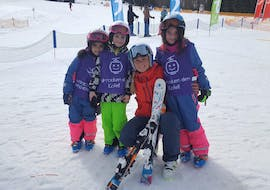 Kids Ski Lessons (4-15 y.) for Beginners