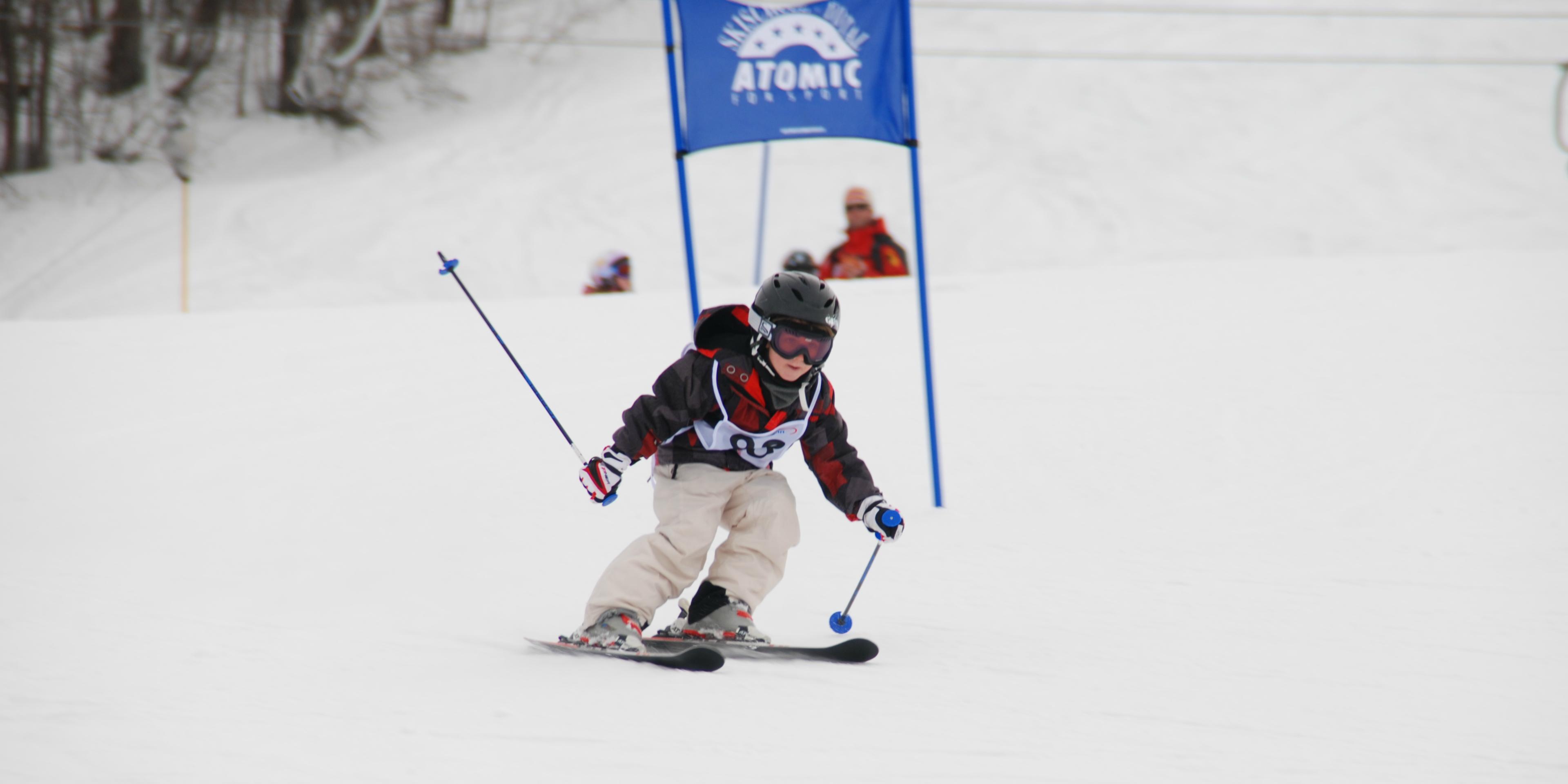 """Skilessen """"Kids Club"""" (4-15 jaar) - Gevorderden"""