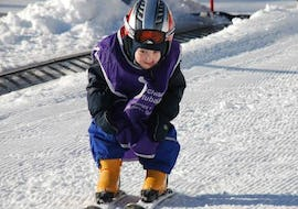 """Skiing kids """"Tiny Tots"""" from 3-4 years old"""