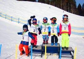 Skilessen voor kinderen vanaf 3 jaar - beginners met Ski School Vreni Schneider Elm