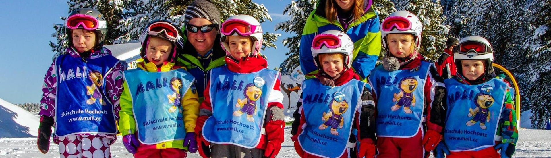 """Kids Ski Lessons """"All-in-One"""" (from 3 y.) for All Levels"""