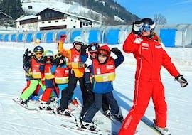 Skilessen voor kinderen (4-12 jaar) voor beginners