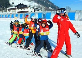 "Ski Lessons ""Kids on Ski"" (4-12 years) - Beginner"