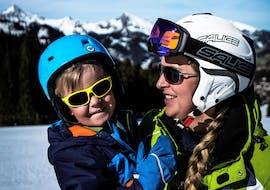 Skilessen voor kinderen vanaf 3 jaar - licht gevorderd met 1. Skischule Club Alpin Grän