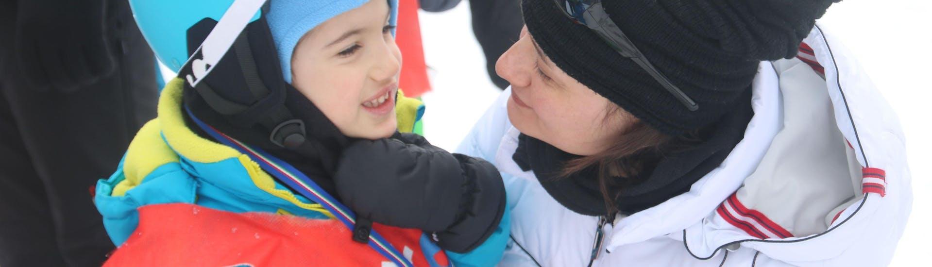 Lezioni private di sci per bambini per tutti i livelli