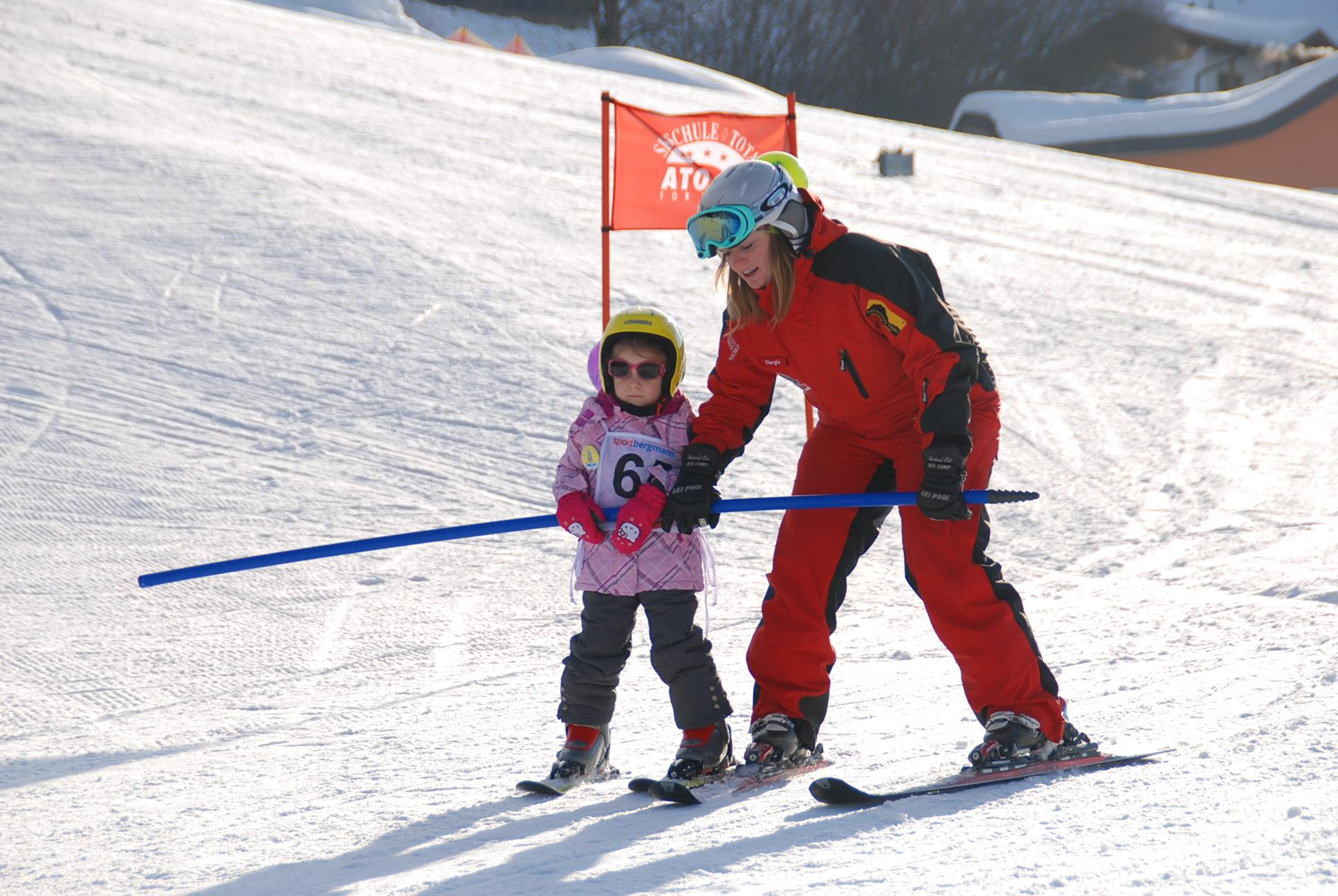 Privélessen skiën voor kinderen - Beginners
