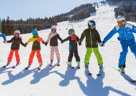Kids Ski Lessons (4-6 y.) for First Timers
