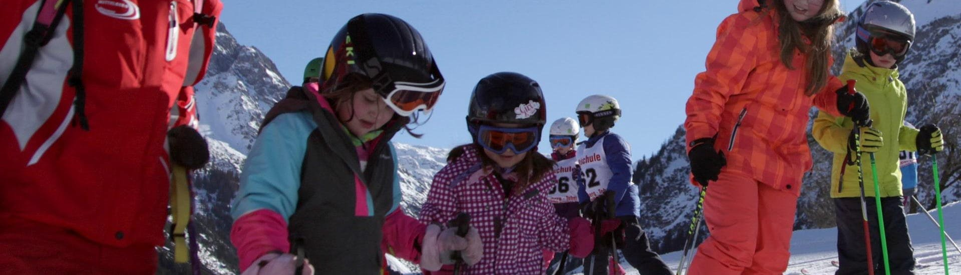 Ski Lessons for Kids (5-12 years) - Beginners