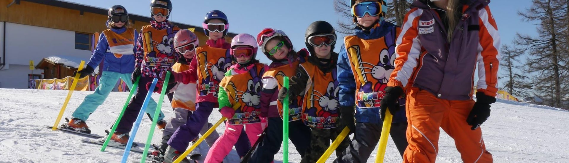 "Ski Lessons ""Half Day"" for Kids (4-14 years) - All Levels"