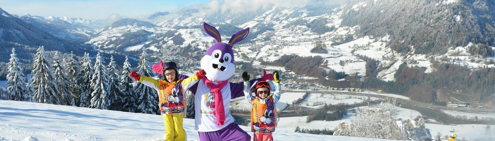Curso de esquí para niños para principiantes
