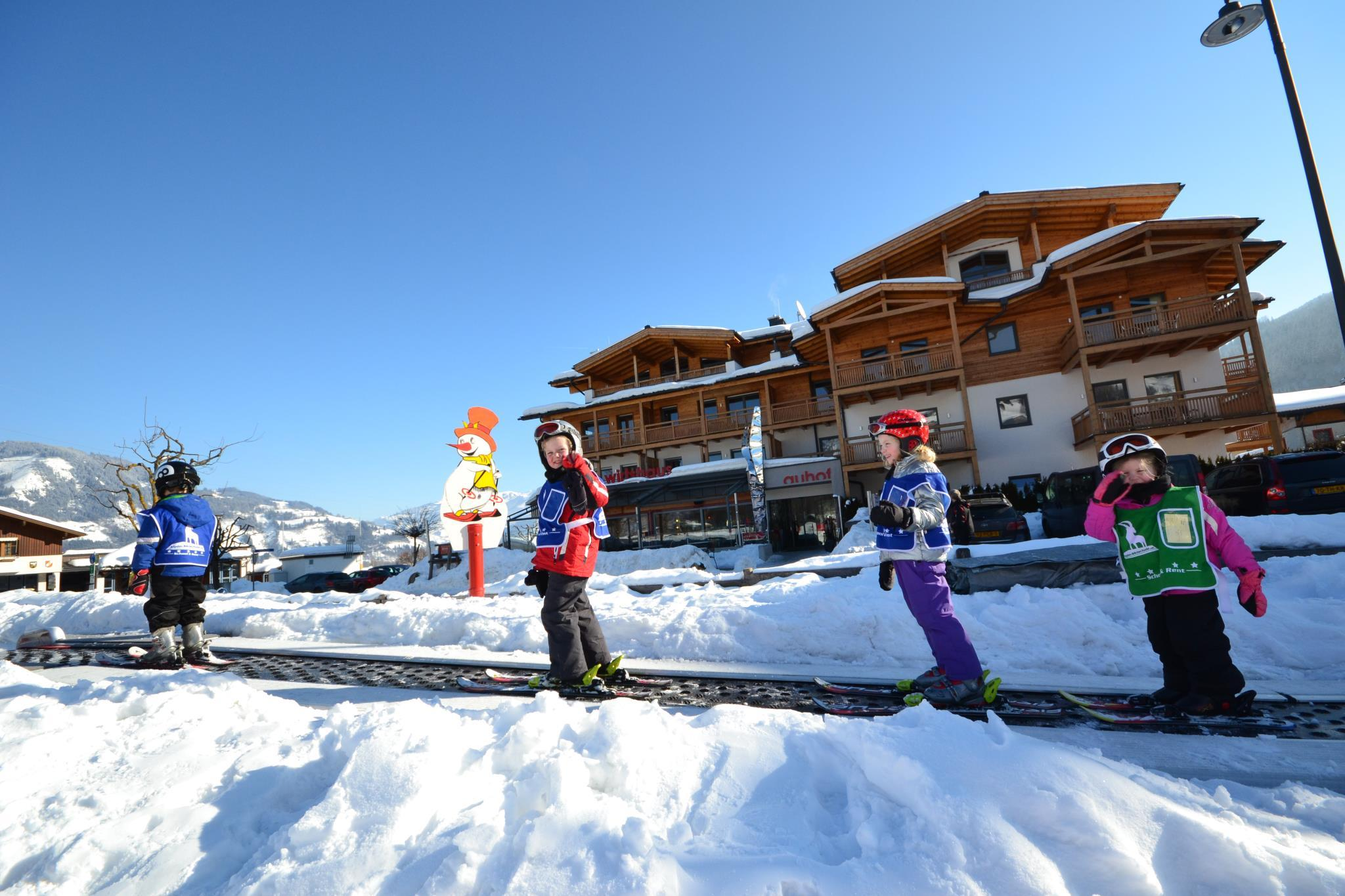 """Skilessen """"Kids & Teens Club"""" (vanaf 5 jaar) - Gevorderden"""