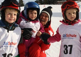 Kids Ski Lessons (4-14 y.) for all Levels - Half-Day