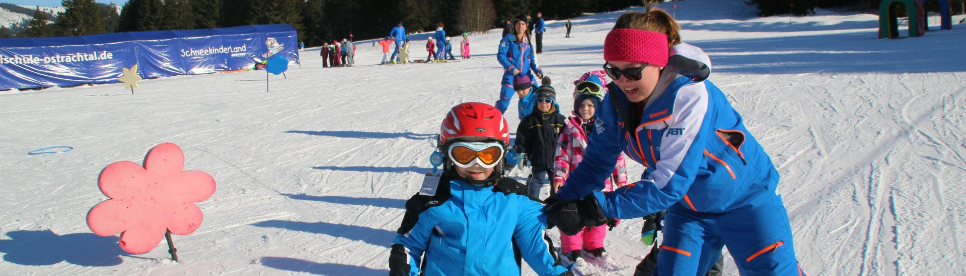 Kids Ski Lessons (3-12 y.) for All Levels with Ski & Snowboard School Ostrachtal - Hero image