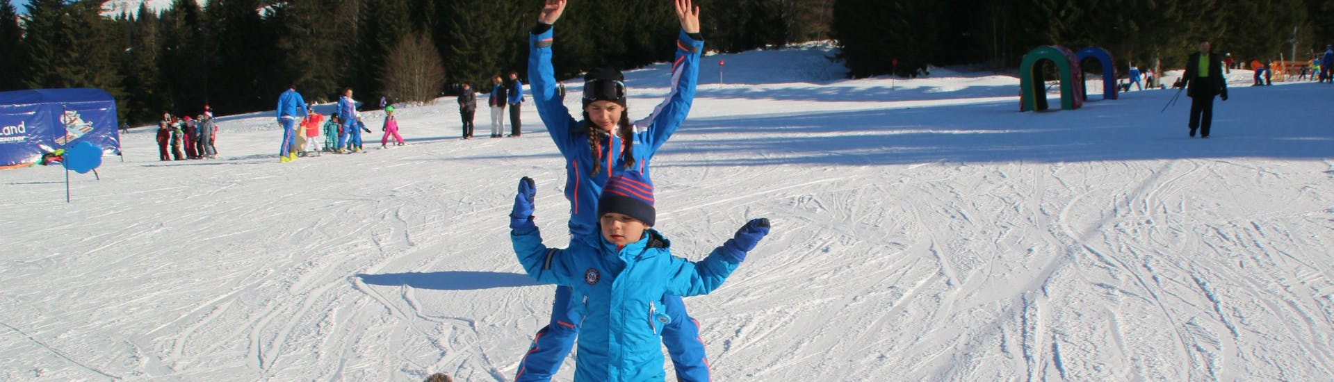 Private Ski Lessons for Kids of All Ages with Ski & Snowboard School Ostrachtal - Hero image