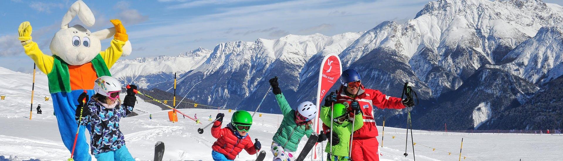 Kids Ski Lessons (3-16 y.) for Advanced Skiers - Half Day