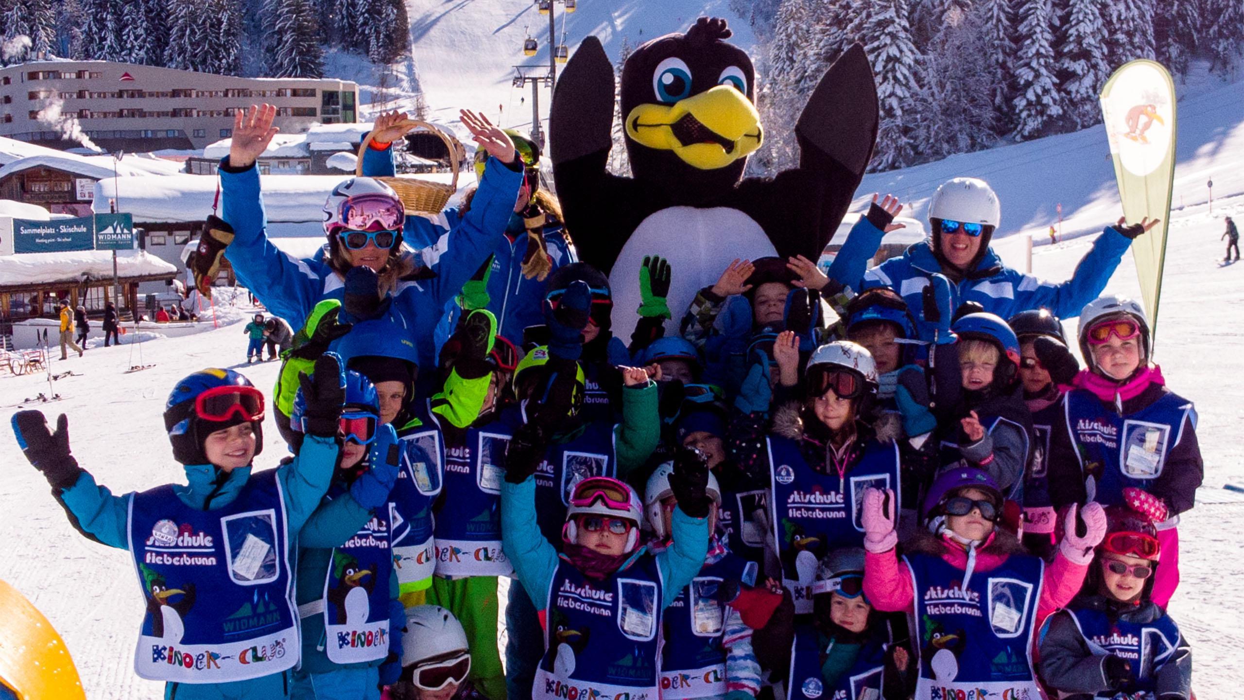 """Skilessen voor kinderen """"Bobo's Miniclub"""" (3-4 jaar)"""