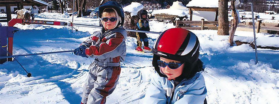 Clases de esquí para niños a partir de 3 años para debutantes