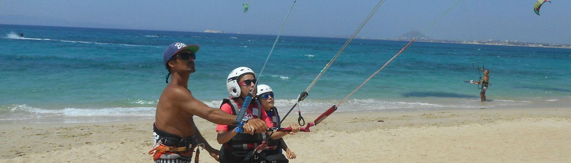 Private Kitesurfing Lessons for 2 - Beginners